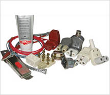 Accessories of industrial heaters
