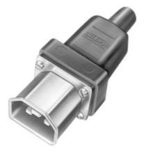 Термостойкий 3-х контактный разъем 444 SD/P, SD/Si